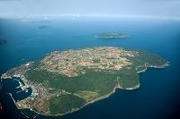 大島と櫃島(長門大井沖)