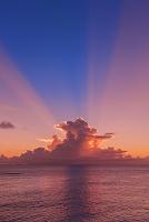 鹿児島県 兼母海岸の夕景
