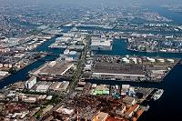 神奈川県 横浜市 京浜工業地帯