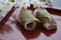 桜餅とさくら