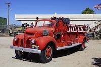 アメリカ パットン将軍記念博物館 昔の消防車
