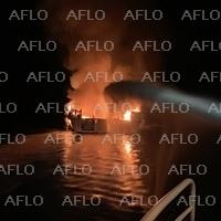 米加州沖でダイビング船が炎上