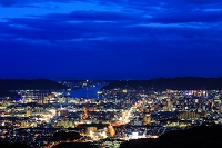 高知県 高知市 夜景