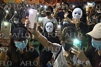 香港抗議デモ 「覆面禁止法」を制定