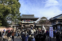 神奈川県 正月の寒川神社