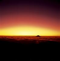 静岡県 富士山 南アルプス蝙蝠岳から