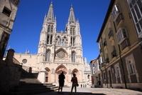 スペイン サンタ・マリア広場とブルゴス大聖堂