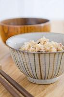 味噌汁と玄米ご飯