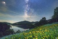 群馬県 野反湖の天の川