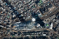 東京スカイツリー(俯瞰撮影)