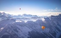オーストリア ザルツカンマーグート 気球
