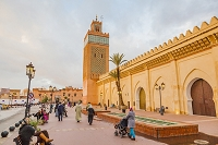モロッコ マラケシュ メディナ アル・マンスール・モスク