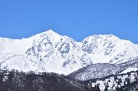 白馬鑓ヶ岳 杓子岳