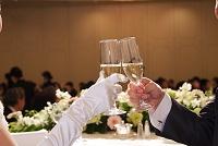 乾杯 シャンパン