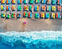トルコ 夏のビーチリゾート