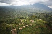 ルワンダ 山中のロッジ