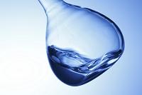 液体の入ったフラスコ