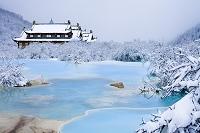中国 五彩池と黄龍後寺