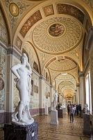 ロシア エルミタージュ美術館 冬の宮 古代絵画の画廊