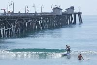 アメリカ合衆国 カリフォルニア州 桟橋と海