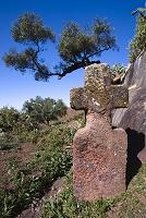 石の十字架とヨルダンリバー