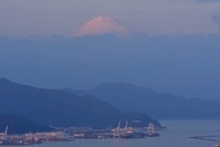 静岡県 清水港と富士山