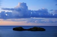 沖縄県 星砂の浜夕景 西表島