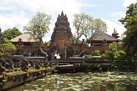 インドネシア バリ島  ヒンドゥー教寺院 はすの池