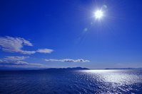 滋賀県 高島市 琵琶湖の光