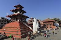 ネパール カトマンドゥ ダルバール広場 シヴァ寺院