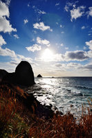 初冬のホヤ石海岸