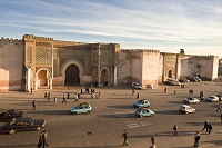 モロッコ メクネス マンスール門