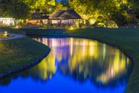 岡山県 後楽園 幻想庭園