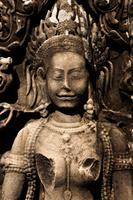 カンボジア アンコール遺跡 バイヨン廟 彫刻