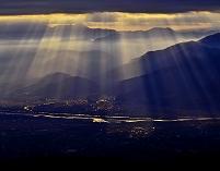山梨県 光芒