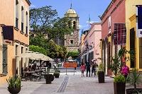 メキシコ テキーラ 町並み
