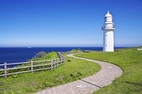 北海道 恵山岬灯台と恵山灯台公園