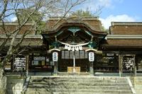 兵庫県 賀茂神社本殿(国重文)と唐門