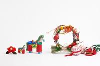小幡土人形馬と正月飾り