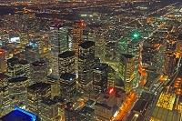 カナダ トロントの夜景