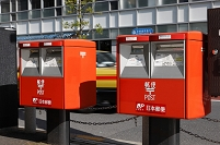 東京都 街角の郵便ポスト