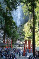 和歌山県 那智の扇祭り 扇神輿還御