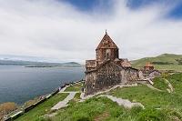 アルメニア セヴァン修道院 セヴァン湖