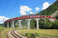 スイス グラウビュンデン州 レーティッシュ鉄道ベルニナ線