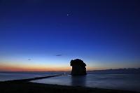 石川県 見附島の朝