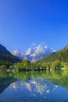 スロベニア クランスカ・ゴラ ヤスナ湖