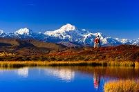 アラスカ デナリ州立公園 ハイキング
