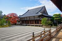 仁和寺 秋の寝殿庭園
