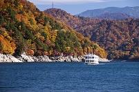 新潟県 奥只見湖 紅葉