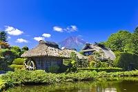 山梨県 富士山と忍野八海